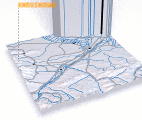 3d view of Khnushinak