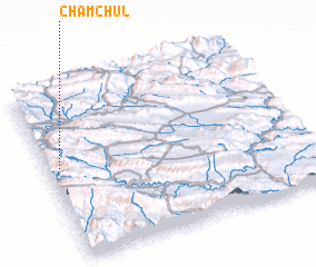 3d view of Cham Chūl
