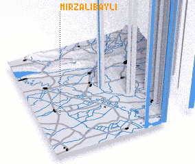 3d view of Mirzalıbǝyli