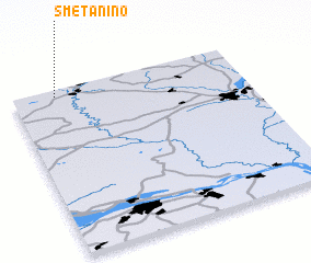 3d view of Smetanino