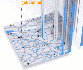 3d view of Qaraoğlan