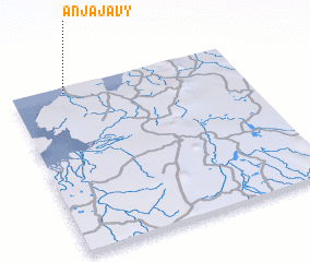 3d view of Anjajavy