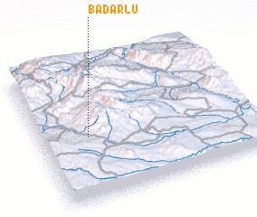 3d view of Badarlū