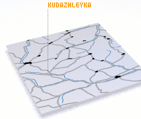 3d view of Kudazhleyka
