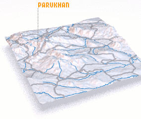 3d view of Parū Khān