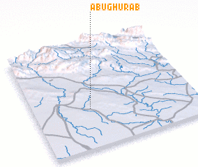 3d view of Abū Ghurāb