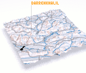 3d view of Darreh Khalīl