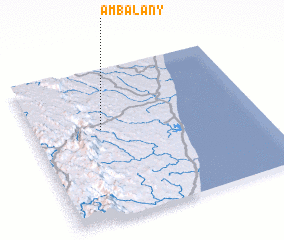 3d view of Ambalany