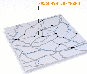 3d view of Russkaya Temryazan\