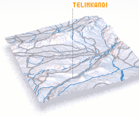 3d view of Telīm Kandī