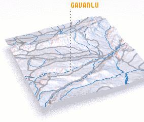 3d view of Gavanlū