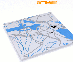 3d view of Sayyid Jābir