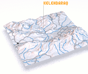 3d view of Keleh Daraq