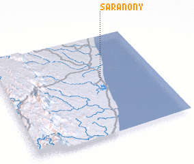 3d view of Saranony
