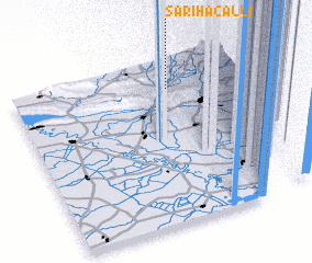 3d view of Sarıhacallı