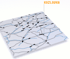 3d view of Kozlovka