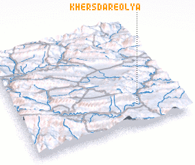 3d view of Khersdar-e 'Olyā