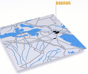3d view of Badrān
