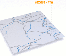 3d view of Yezevskaya