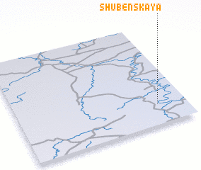 3d view of Shubenskaya