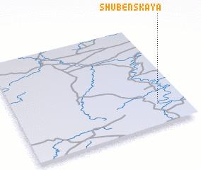 3d view of Shubenskaya