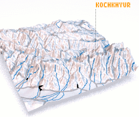 3d view of Kochkhyur