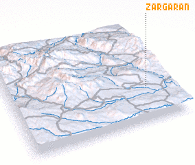 3d view of Zargarān