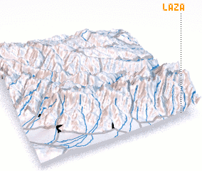 3d view of Laza