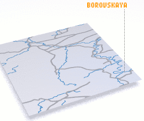 3d view of Borovskaya