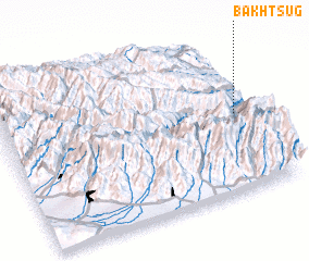 3d view of Bakhtsug