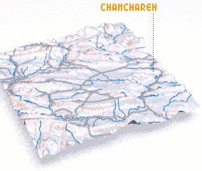 3d view of Cham Chareh