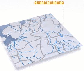 3d view of Ambodisakoana