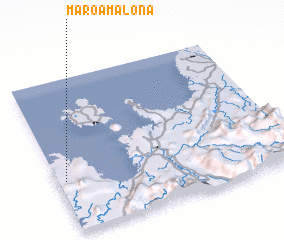 3d view of Maroamalona