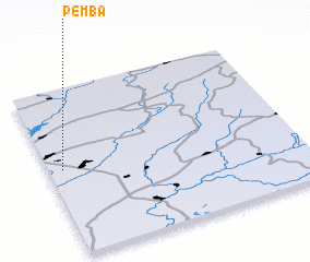 3d view of Pemba