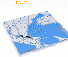 3d view of Baljān