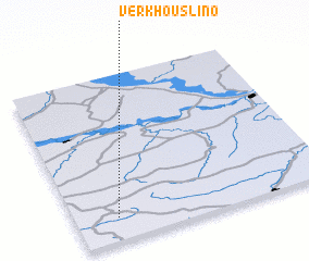 3d view of Verkhouslino