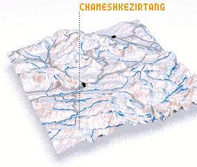 3d view of Chameshk-e Zīr Tang