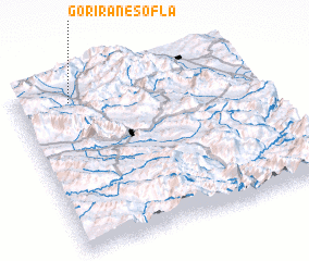 3d view of Gorīrān-e Soflá