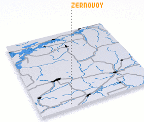 3d view of Zernovoy