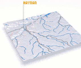 3d view of Haynan