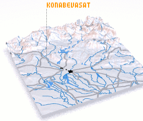 3d view of Konāb-e Vasaţ