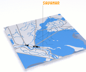3d view of S̄avāmar
