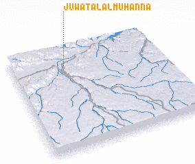 3d view of Jūwat Āl al Muhannā