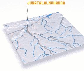 3d view of Jūwat Āl al Muhannā