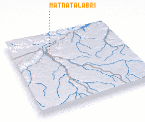 3d view of Matnat Āl 'Abrī