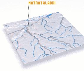 3d view of Matnat Āl 'Abrī