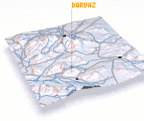 3d view of Darvāz