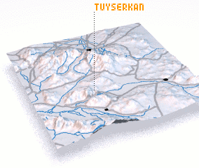 3d view of Tūyserkān