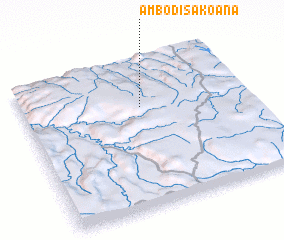 3d view of Ambodisakoana