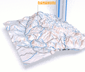3d view of Namāhūnī